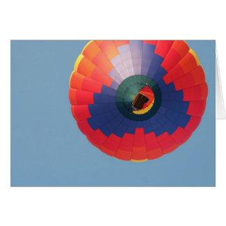 Carte En haut : Ballon à air chaud