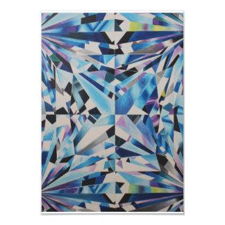 Carte en verre de diamant