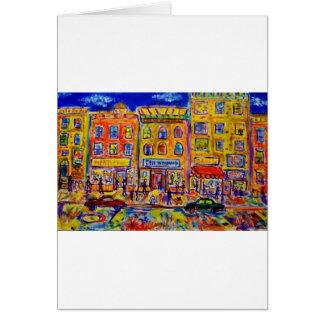 Carte Enfance Bronx 2 par Piliero