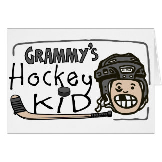 Carte Enfant de l'hockey de Grammy