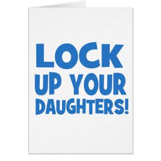 Carte Enfermez vos filles !