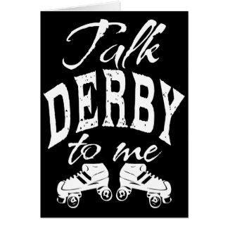 Carte Entretien Derby à moi, rouleau Derby