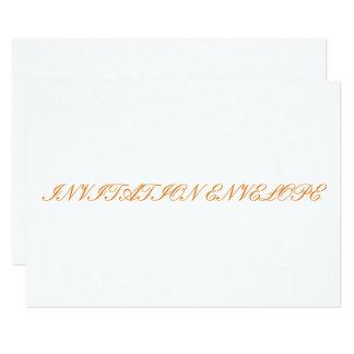 Carte Enveloppe d'invitation
