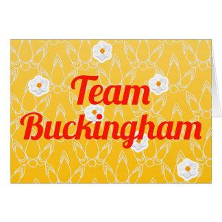 Carte Équipe Buckingham