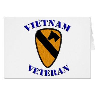 Carte ęr Vétéran de Cav Vietnam