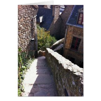 Carte Escaliers de St Michel de Mont