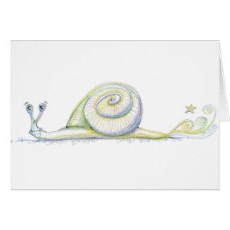 Carte Escargot superbe