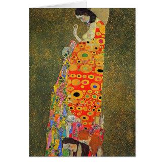 Carte Espoir abandonné par Klimt de Gustav