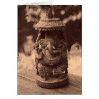 """Carte """"Esprit de Ganesha """""""