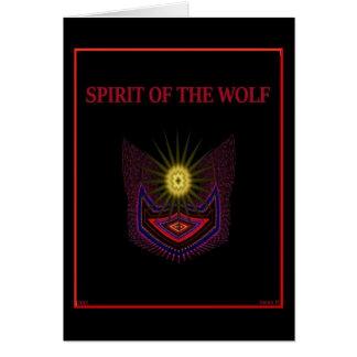 Carte Esprit du loup