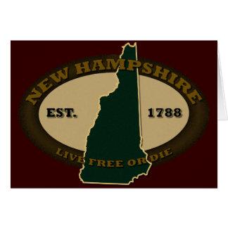 Carte Est 1788 du New Hampshire