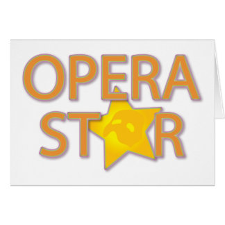 Carte Étoile d'opéra