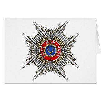 Carte Étoile d'or de dent (ordre papal)