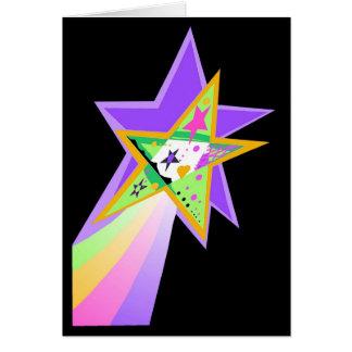 Carte Étoile filante