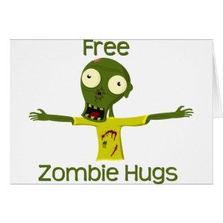 Carte Étreintes de zombi