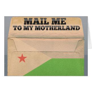 Carte Expédiez-moi à Djibouti