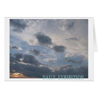 Carte Exposition quotidienne