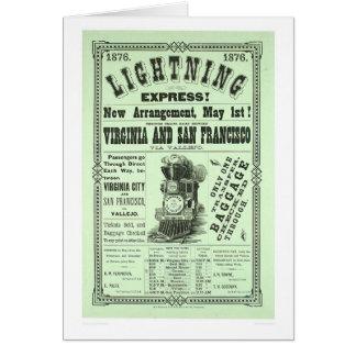Carte Express de foudre ! (1831A)