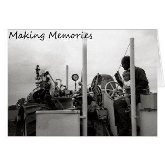 Carte Fabrication des souvenirs
