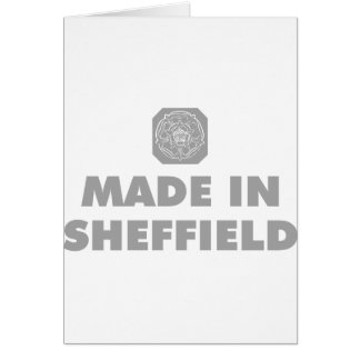 Carte Fait à Sheffield