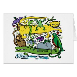 Carte faune