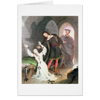 Carte Faust, 1828 (encre et la semaine)