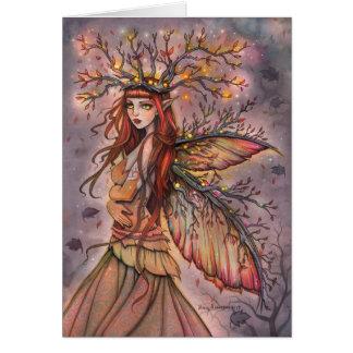 Carte féerique d'art d'imaginaire de la Reine