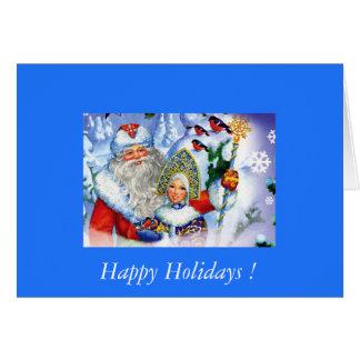 Carte Felice Navidad !