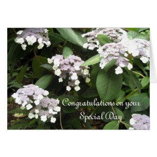 Carte Félicitations de mariage