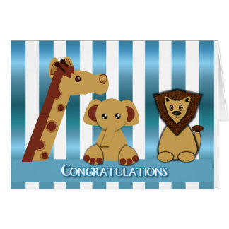 Carte Félicitations, nouveau bébé