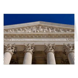 Carte Félicitations sur la court suprême de diplôme en