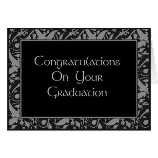 Carte Félicitations sur votre obtention du diplôme