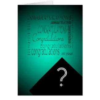 Carte Félicitations sur votre obtention du diplôme #2