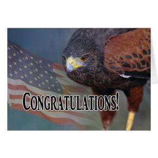 Carte Félicitations sur votre promotion militaire
