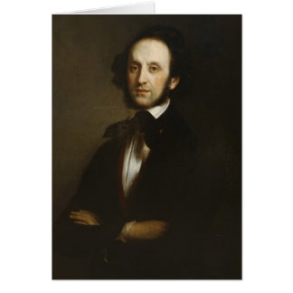 Carte Felix Mendelssohn