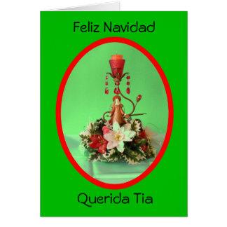 Carte Feliz Navidad Querida Tia