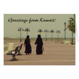 Carte Femelles dans des achats du Kowéit