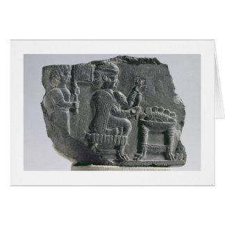 Carte Femme d'Elamite tournant, Néo--Elamite période,