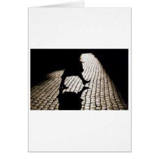 Carte femme et ombre