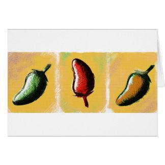 Carte Fentes de poivre de piment