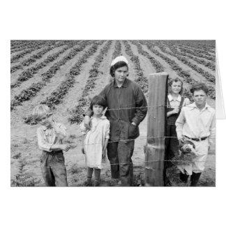 Carte Ferme de la famille d'Arnold la nouvelle - 1939