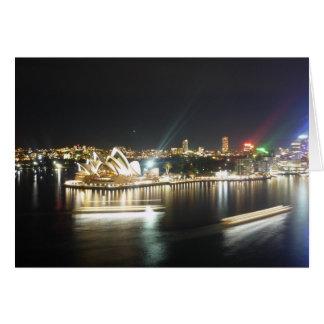 Carte ferries de théatre de l'opéra de Sydney
