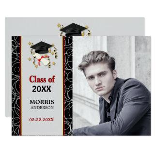 Carte Fête de remise des diplômes abstraite moderne 2018