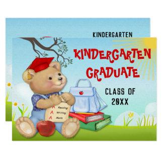 Carte Fête de remise des diplômes de jardin d'enfants