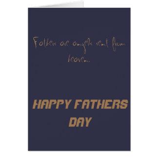 Carte Fête des pères heureuse