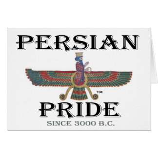 Carte Fierté persane