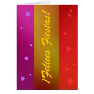 Carte - fiestas de Felices de ¡ ! - Multicolore