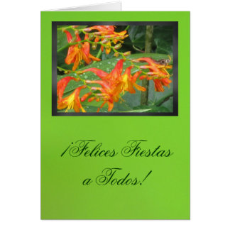 Carte - fiestas de Felices de ¡ un Todos !