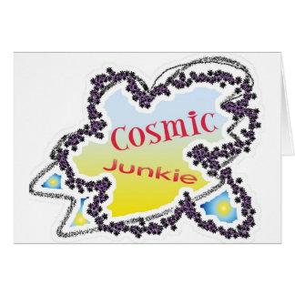 Carte fille cosmique