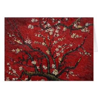 Carte Fleur Vincent van Gogh d'amande